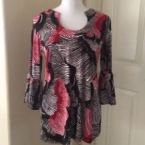Chico's Travelers tunic top size 1 medium